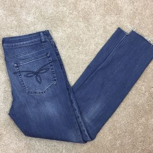 Ted Baker London Jeans - 👖 TED BAKER London SKINNY Stretch CROP Blue JEANS
